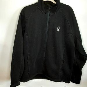 Spyder core sweater jacket.sz.xl